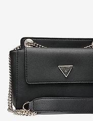 GUESS - SANDRINE CONVERTIBLE CROSSBODY - crossbody bags - black - 3