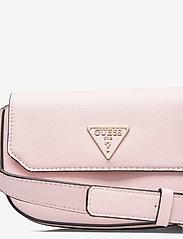 GUESS - AMBROSE MINI CROSSBODY FLAP - sacs à bandoulière - blush - 3