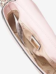 GUESS - AMBROSE MINI CROSSBODY FLAP - sacs à bandoulière - blush - 4