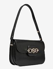 GUESS - HENSELY CNVRTBLE SHOULDER BAG - handväskor - black - 2