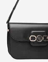 GUESS - HENSELY CNVRTBLE SHOULDER BAG - handväskor - black - 3