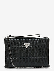 GUESS - PIXI WRISTLET CLUTCH - clutches - black - 0