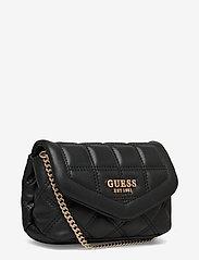 GUESS - KAMINA CNVRTBL XBODY BELT BAG - crossbody bags - black - 2
