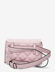 GUESS - KAMINA CNVRTBL XBODY BELT BAG - crossbody bags - blush - 1