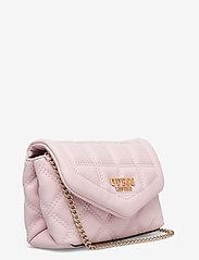 GUESS - KAMINA CNVRTBL XBODY BELT BAG - crossbody bags - blush - 2