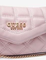 GUESS - KAMINA CNVRTBL XBODY BELT BAG - crossbody bags - blush - 3