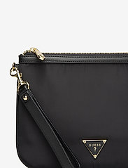 GUESS - DID I SAY 90S? FLAT TOP ZIP - clutches - black - 3