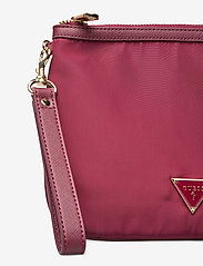 GUESS - DID I SAY 90S? FLAT TOP ZIP - clutches - burgundy - 3