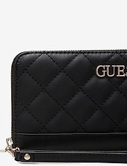 GUESS - ILLY SLG LARGE ZIP AROUND - black - 3