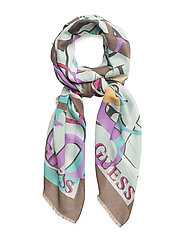OT COORDINATED SCARF - TAUPE