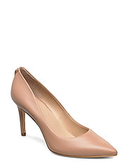 BENNIE15/DECOLLETE (PUMP)/LEAT - LIGHT NATURAL