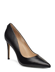 BELAN3/DECOLLETE (PUMP)/LEATHE - BLACK