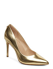 BELAN4/DECOLLETE (PUMP)/LEATHE - GOLD