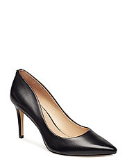 BENNIE7/DECOLLETE (PUMP)/LEATH - BLACK