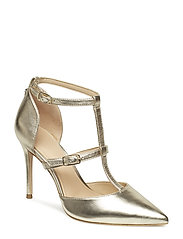 BRADENS/DECOLLETE (PUMP)/LEATH - GOLD