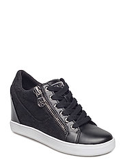 IERZE/ACTIVE LADY/LEATHER LIK - BLACK