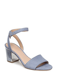 ENEE/SANDALO (SANDAL)/SUEDE - LIGHT BLUE