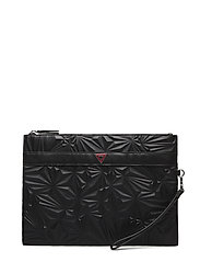 TRIANGLE EXPLOSION POCHETTE - BLACK