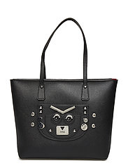 CYBER ROCK TOTE - BLACK