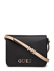 AMRYN CROSSBODY FLAP - BLACK
