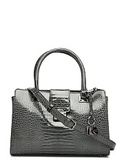 CLEO GIRLFRIEND SATCHEL - GRAPHITE