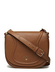 FAITH CROSSBODY FLAP - BRUN/CAMEL