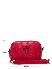 GUESS - NOELLE CROSSBODY CAMERA - crossbody bags - red - 5