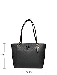 GUESS - NOELLE ELITE TOTE - shoppingväskor - black - 5