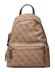 LEEZA SMALL BACKPACK - BROWN
