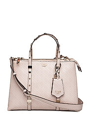 OAST TO COAST STATUS SATCHEL - STONE