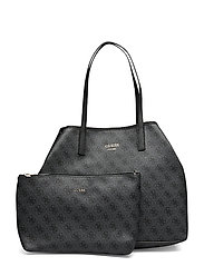 VIKKY LARGE TOTE - COAL