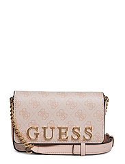 BLUEBELLE CROSSBODY BELT BAG - BLUSH