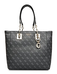 Logo Rock Tote Bags Shoppers Fashion Shoppers Svart GUESS