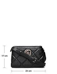 GUESS - DILLA GIRLFRIEND CROSSBODY - crossbody bags - black - 5