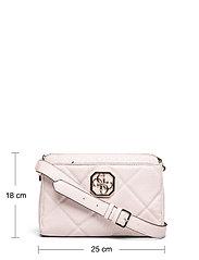 GUESS - DILLA GIRLFRIEND CROSSBODY - crossbody bags - blush - 5