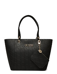 c3b294970 GUESS Kamryn Tote (Black), (87.75 €) | Large selection of outlet ...