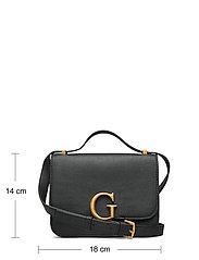 GUESS - CORILY CONVERTIBLE XBODY FLAP - handväskor - black - 5