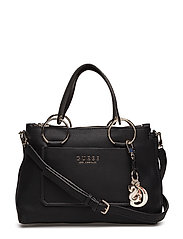 ALLY STATUS SATCHEL - BLACK