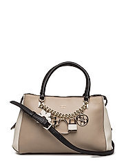 ADLEY GIRLFRIEND SATCHEL - TAUPE MULTI
