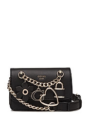 ADLEY MINI CROSSBODY FLAP - BLACK