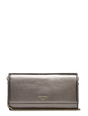 STARRY NIGHT FLAP CLUTCH - PEWTER