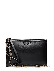 LYNDA CROSSBODY TOP ZIP - BLACK