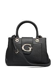 Camila Girlfriend Satchel Bags Top Handle Bags Svart GUESS