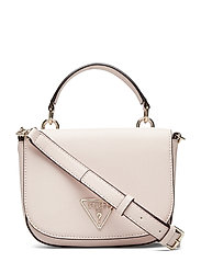 CARYS MINI TOP HANDLE FLAP - BLUSH