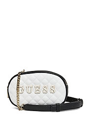 GUESS PASSION XBODY BELT BAG - WHITE MULTI