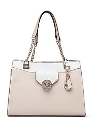 BELLE ISLE SOCIETY CARRYALL - STONE MULTI