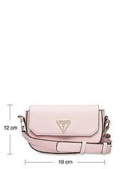 GUESS - AMBROSE MINI CROSSBODY FLAP - sacs à bandoulière - blush - 5