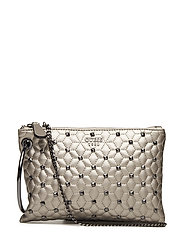 FALL IN LOVE CLUTCH - PEWTER