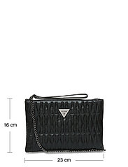 GUESS - PIXI WRISTLET CLUTCH - clutches - black - 5