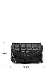 GUESS - KAMINA CNVRTBL XBODY BELT BAG - crossbody bags - black - 5